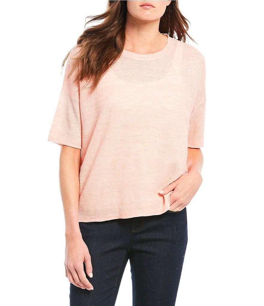 0009389935 Eileen Fisher Plus Size Crepe Open Front Cardigan in 2019