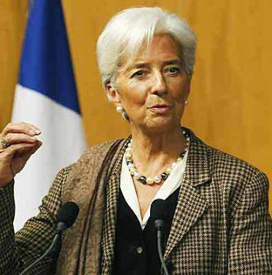 Christine Lagarde's power pearls