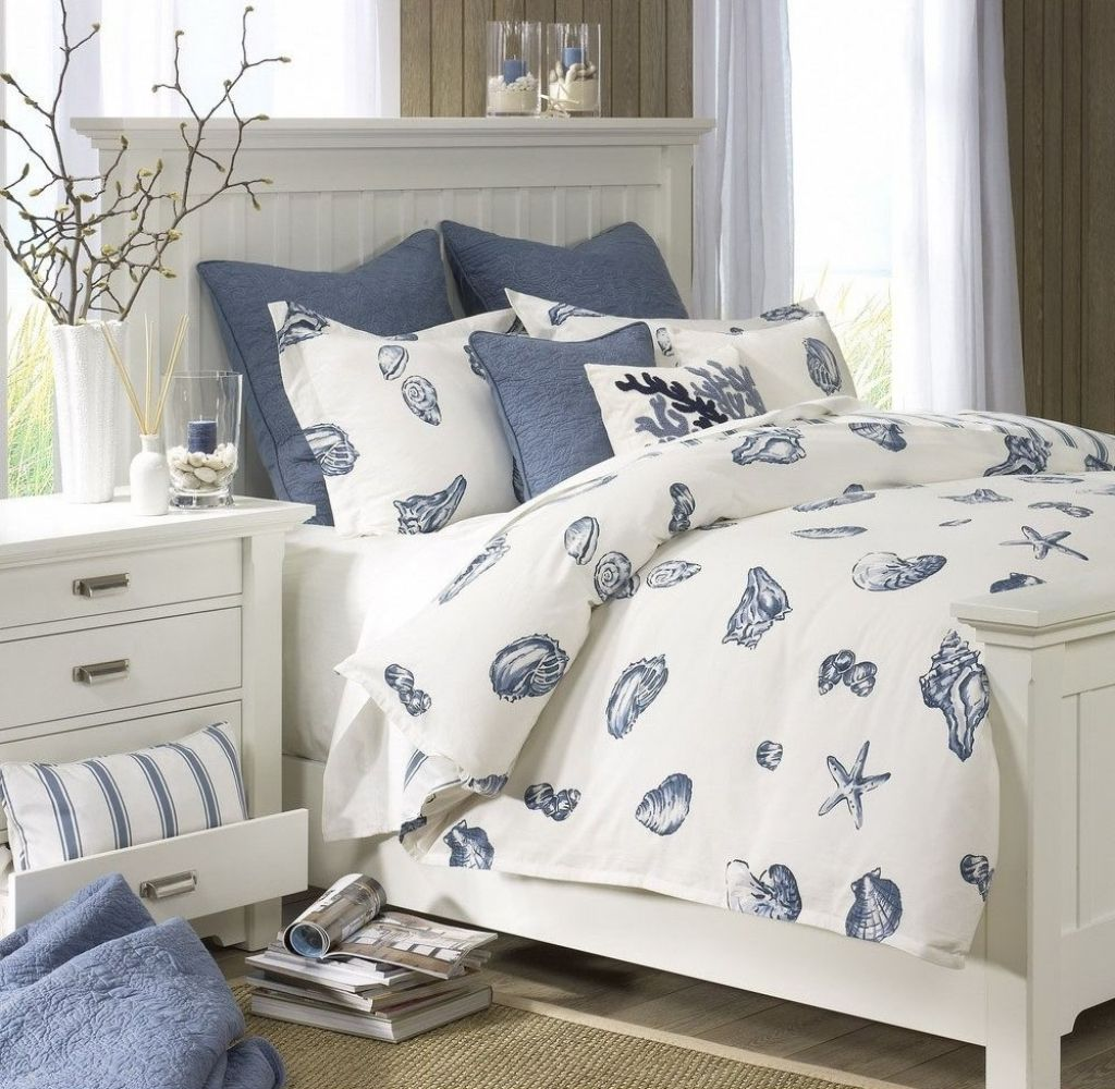 Nautical Bedroom Furniture Ideas  Beachy bedroom decor, Nautical