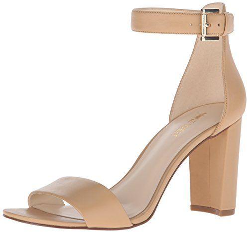 Amazon.com   Nine West Women's Nora Dress Sandal   Heeled Sandals