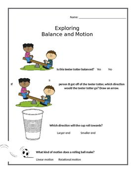 balance and motion foss kit assessment classroom ideas pinterest rh pinterest com Balance and Motion Foss Kit Balance and Motion Spinning Tops