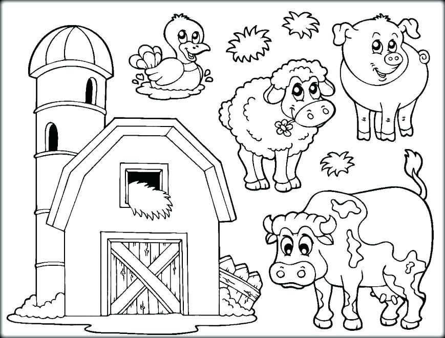 farm animal coloring pages printable u2013 coloring simple