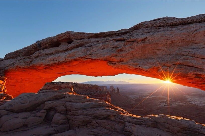 Mesa Arch Island In The Sky Canyonlands Utah by