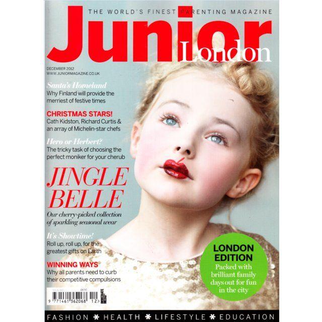 Junior Magazine - my friends daughter - gorgeous!