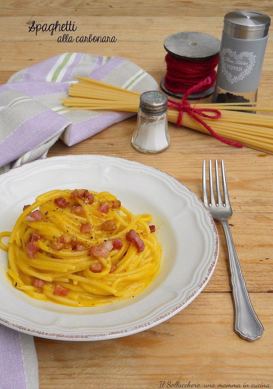 Ricette Cucina Italiana.Spaghetti Alla Carbonara Ricetta Tradizionale Una Delizia