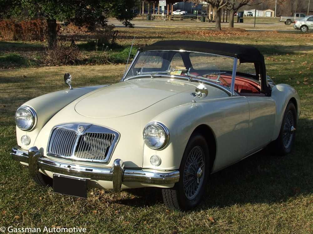SOLD!! - 1958 MGA Old English White For Sale | Sold | Pinterest ...