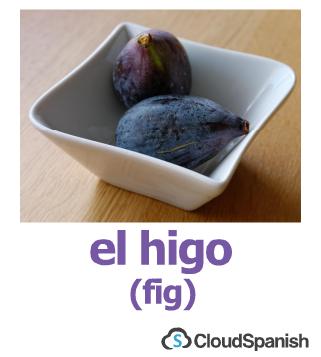 el higo (fig)