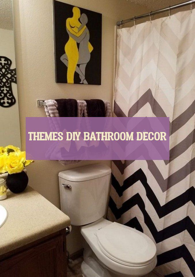 Themes diy bathroom decor