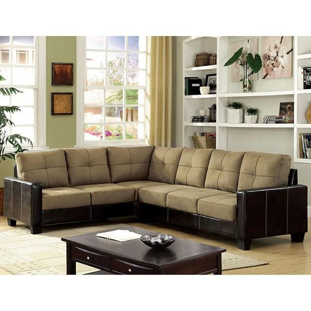 Furniture Of America Lavena Sectional In 2019 Furniture