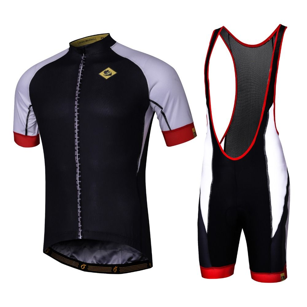 Summer Short Sleeve Breathable Cycling Jerseys and Bib shorts Quick-Dry  Bike wear Ropa Ciclismo 73973ce10