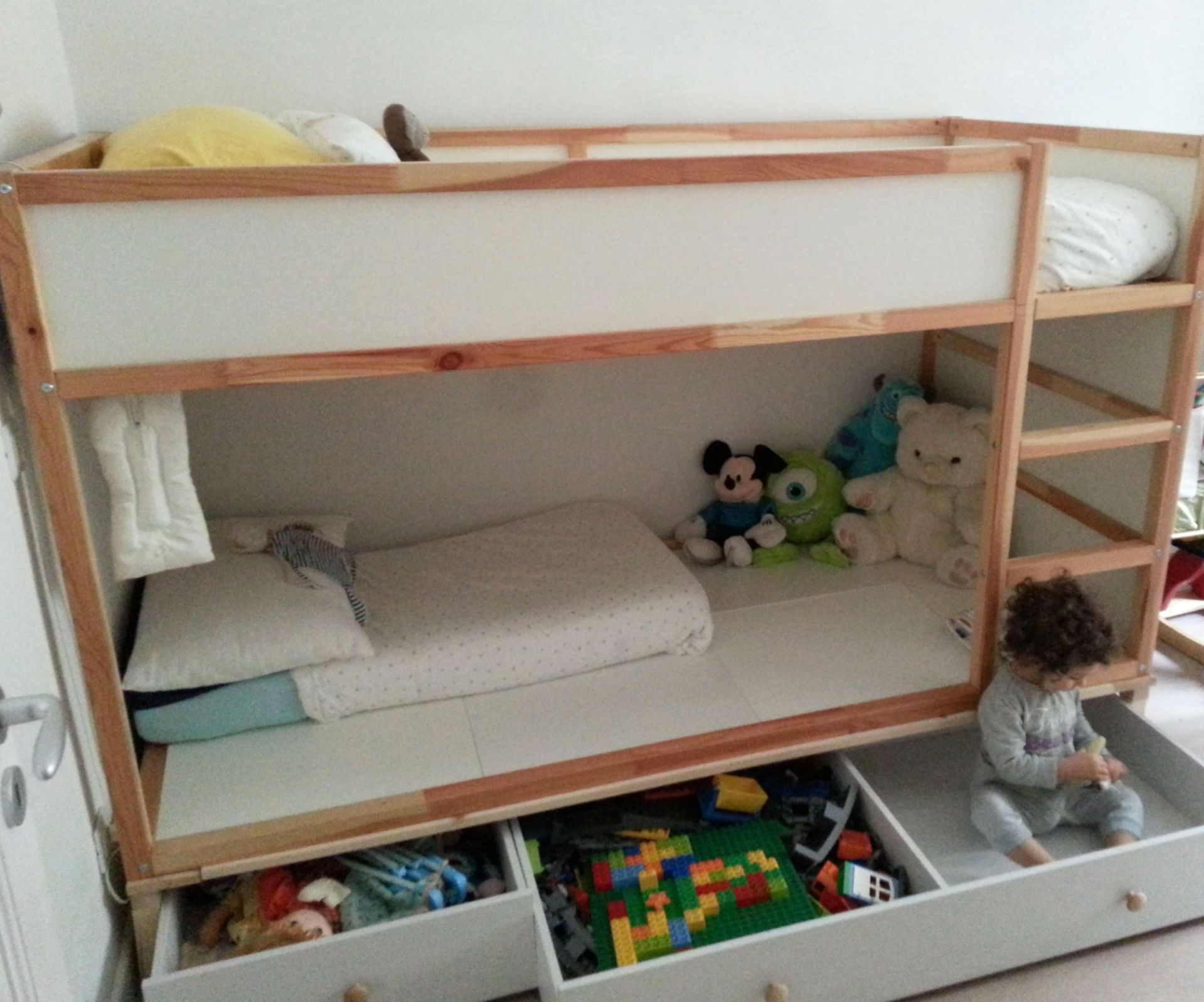 28 Types Of Ikea Bed Hack Kids Kura Girl Rooms 84 Freehomeideas Com Ikea Kura Bed Ikea Bed Kids Shared Bedroom