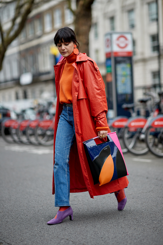 a9dd960e17 The Latest Street Style From London Fashion Week Fall 2018