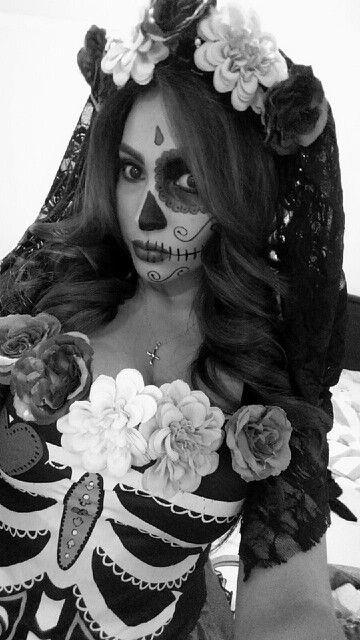 Nena Dia de Los Muertos 2015