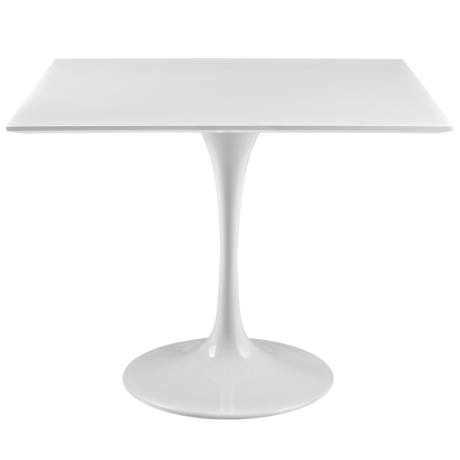 Lippa 36 Dining Table In White Square Dining Tables Dining