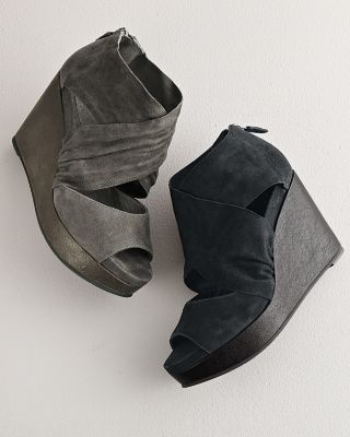 929b9da32ba0 Eileen Fisher Draw Suede Wedge Shoes--don t even care for wedges but damn--  super cute!
