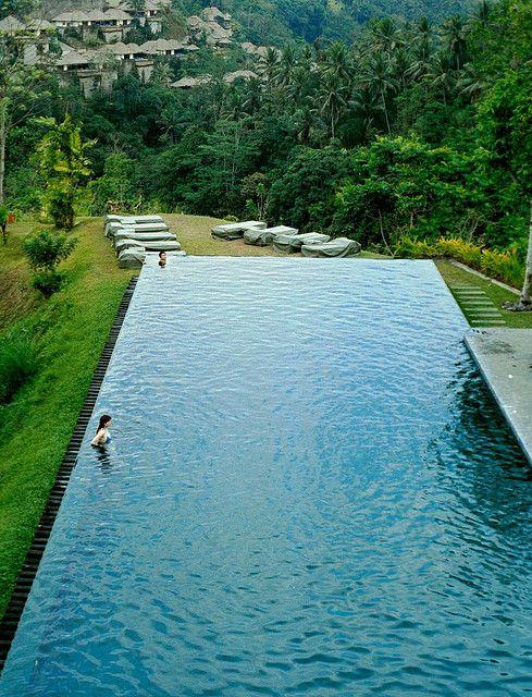 Indonesia Bali Island Ubud Cool Pools Beautiful Pools Bali