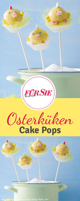 osterk ken cake pops f r gro und klein ideen f r ostern pinterest. Black Bedroom Furniture Sets. Home Design Ideas