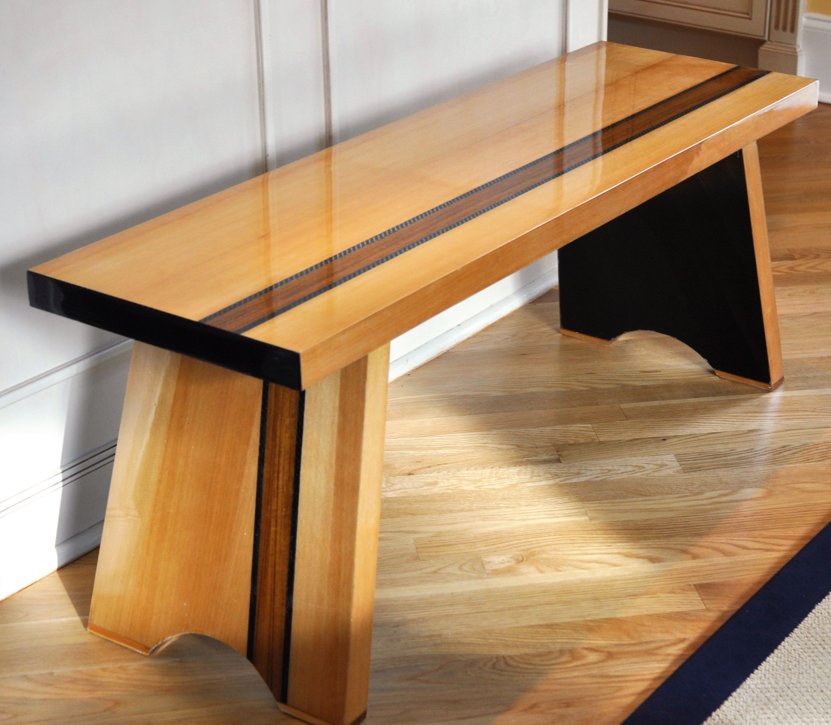 Carbon Fiber Bench With Cedar And Teak Accents Cool Furniture
