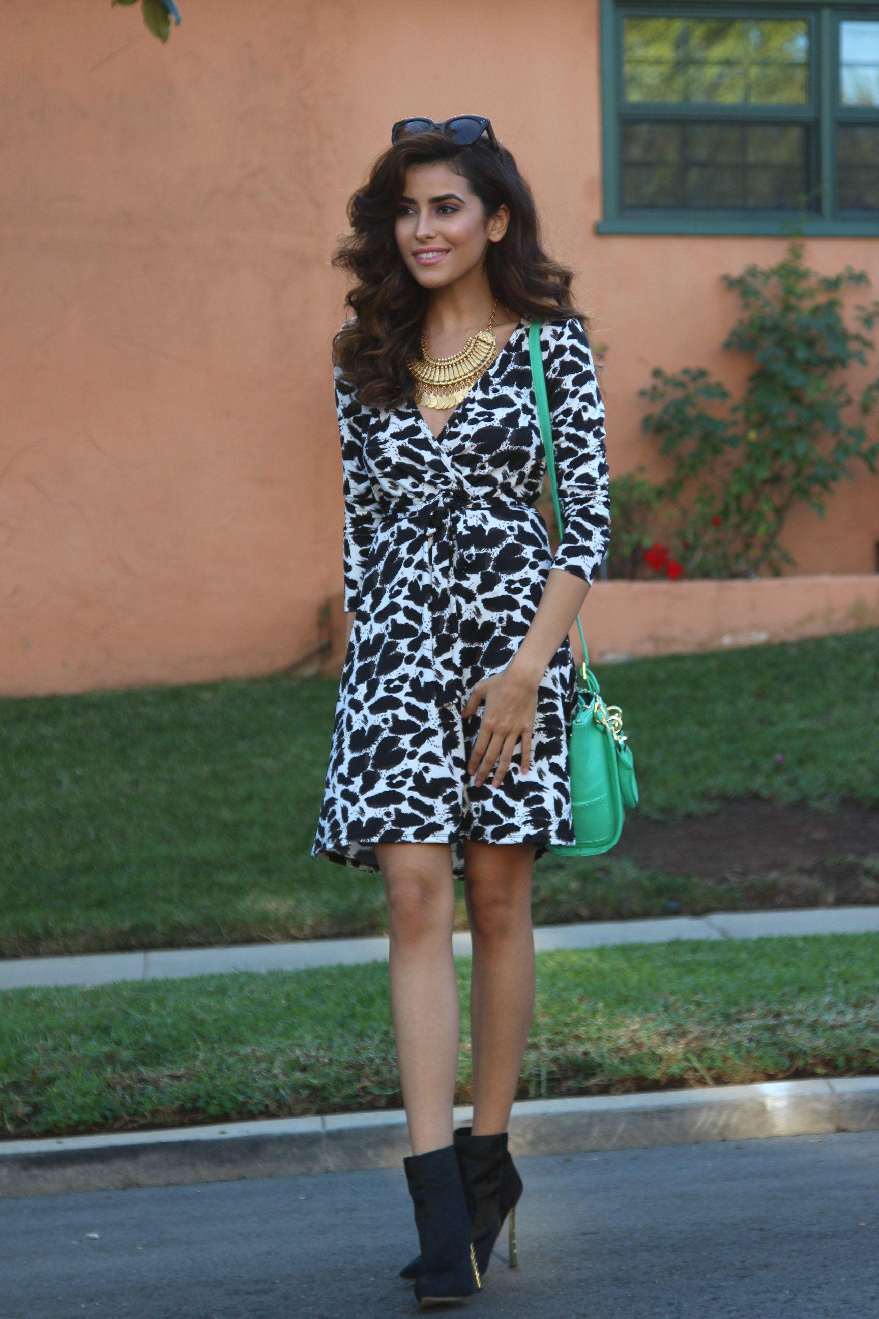 Wrap Dress From Walmart Say What Sazan Barzani Little Dresses Dresses Wrap Dress [ 2592 x 1728 Pixel ]