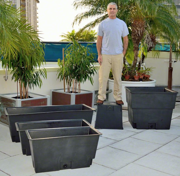 Omg Why Didn T I Think Of This Lining Raised Planter Boxes