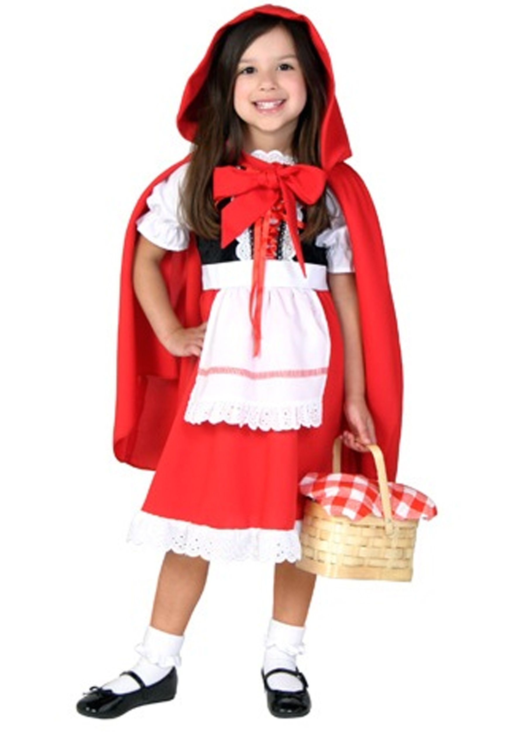 Toddler Little Red Riding Hood Costume With Images Red Riding