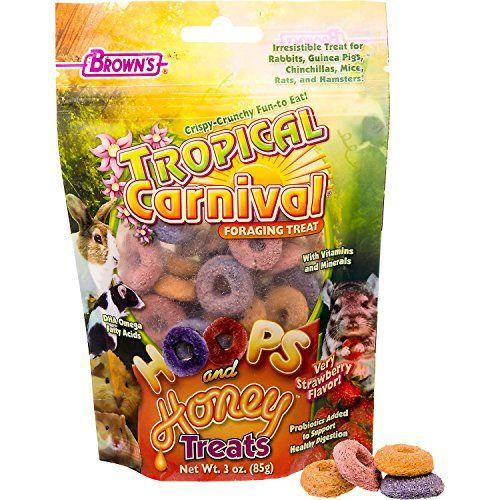 Brown's Tropical Carnival Hoops & Honey Treats
