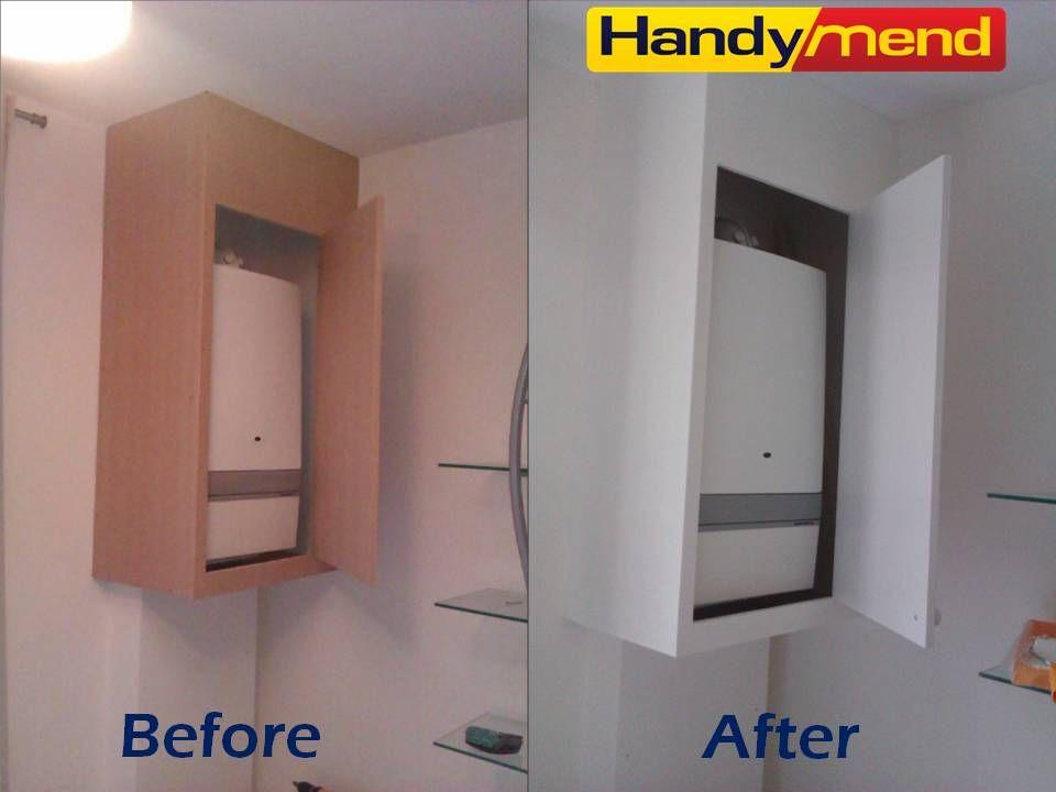 Pin By Zuzana Badinska On Handymend Com Portfolio Gas Boiler Small Bathroom Bathroom
