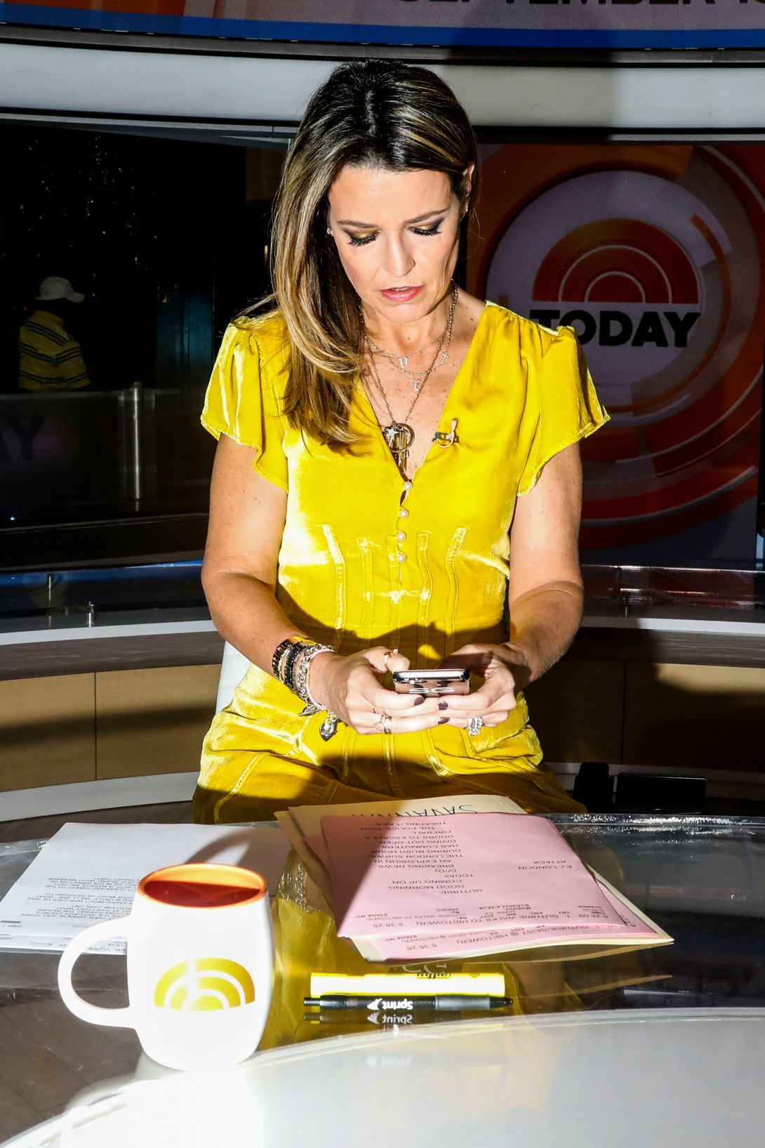 Savannah Guthrie Gets Up For Work At 3 Am Thats Just For One Of