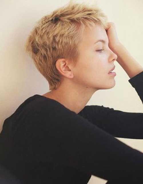 Super kurze Haare Ideen auf hübsche Damen – Frisuren Site