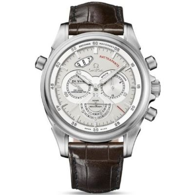 NEW OMEGA DeVILLE RATTRAPANTE MENS WATCH 422.53.44.51.02.001 Price: $18'995