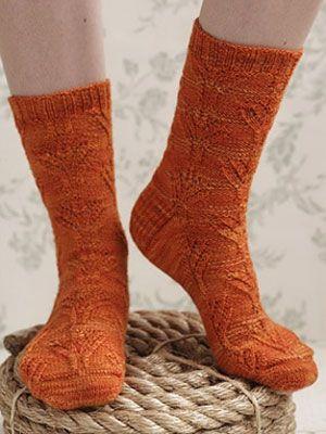 DIY Style: Knit Bouquet Socks | Knit socks, Socks and Knit sock pattern