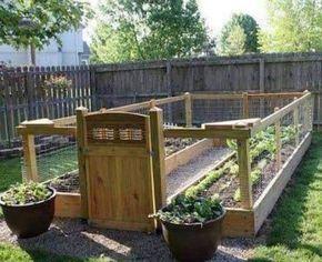 Creative Outdoor Ideas -   22 enclosed garden beds ideas