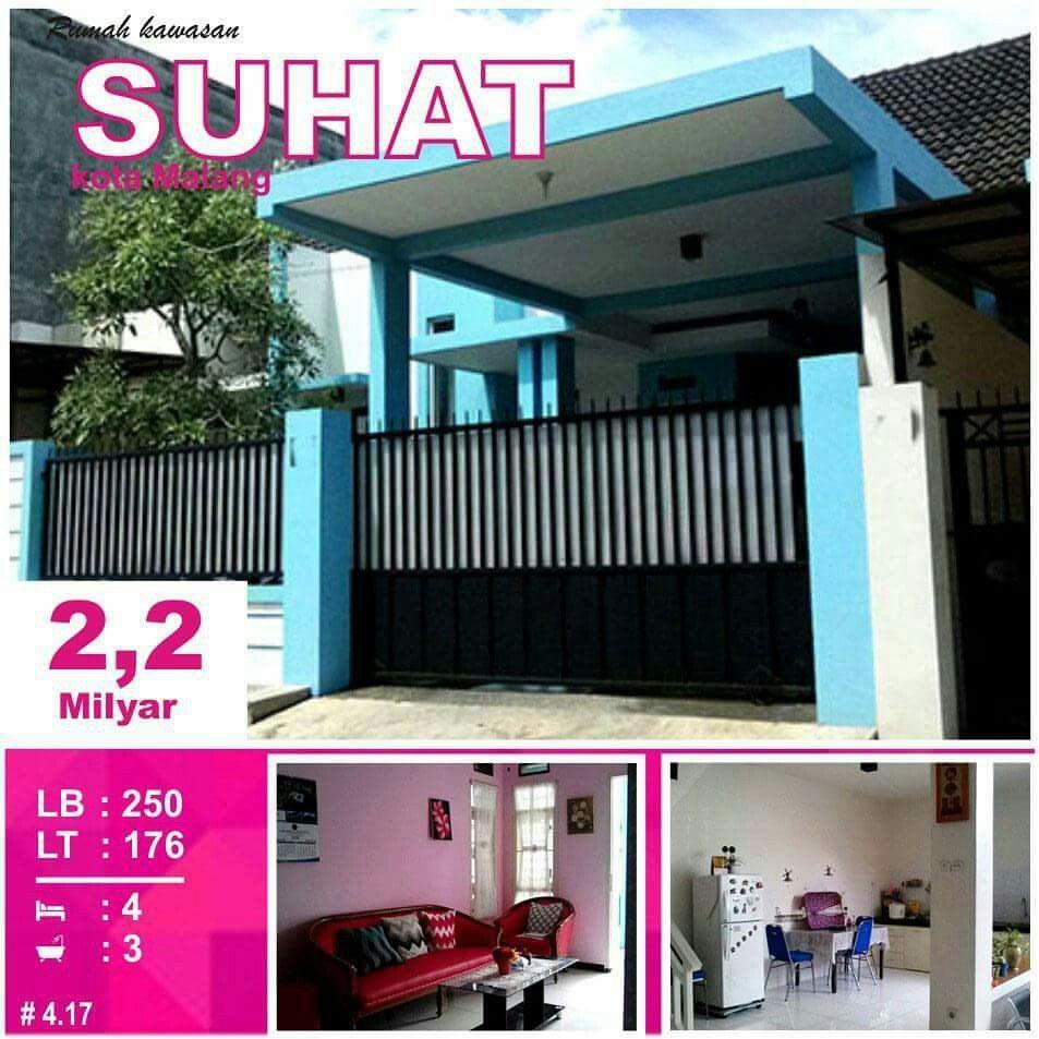 Rumah di Suhat kota Malang