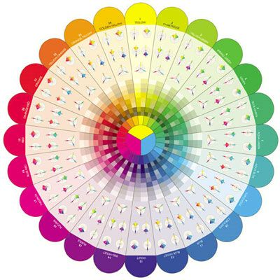 Correct Steps For Color Selection Color Wheel Color Color Theory