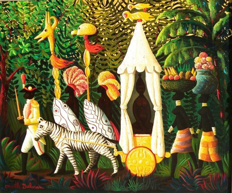 Haiti ~ by Orville Bulman ~ The Jungle