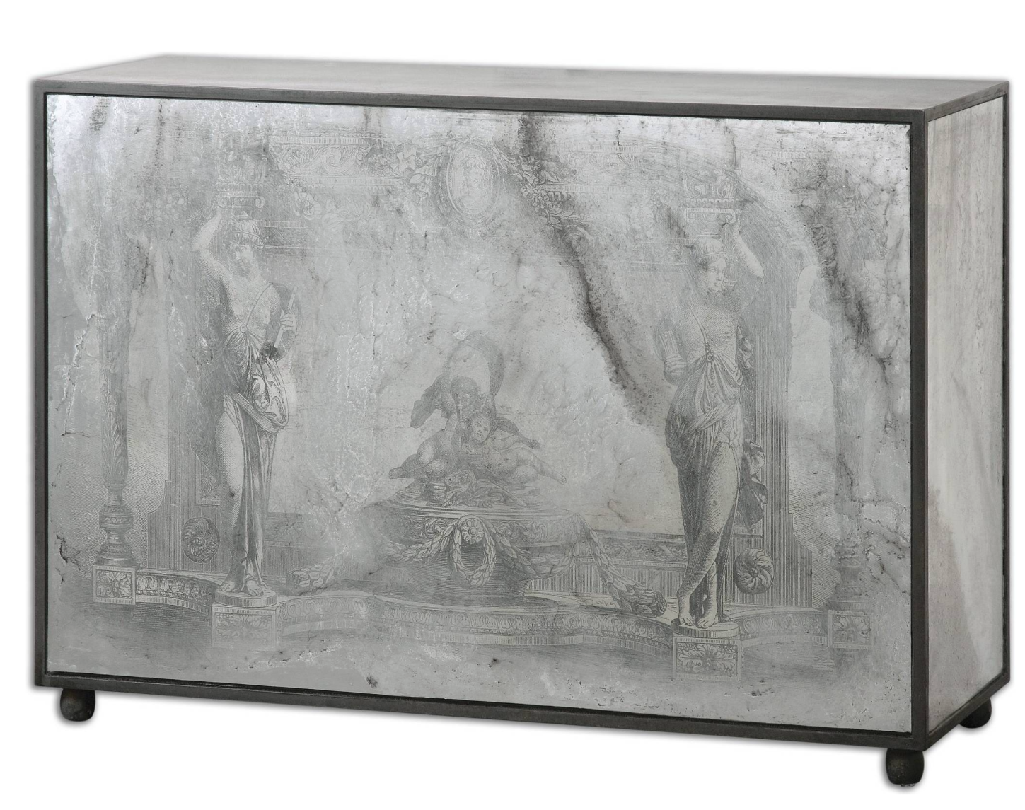 Uttermost antheia mirrored console table mdffirglass ancient uttermost antheia mirrored console table mdffirglass ancient stone scenery is geotapseo Choice Image
