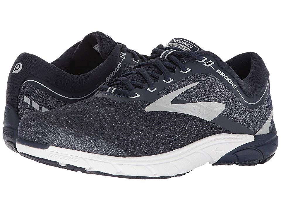16601733f2c Brooks PureCadence 7 (Peacoat Silver White) Men s Running Shoes. The Brooks