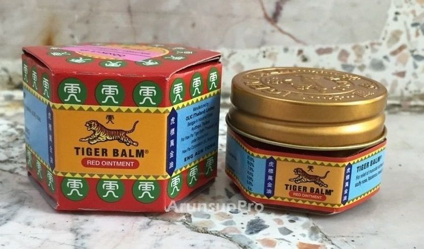 10g Tiger Balm Red Ointment Relieve Muscle Pain Massage Muscle Aches Free Ship #TigerBalm