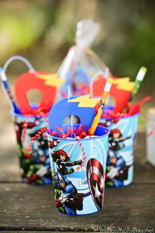 Birthday on a Budget Marvel Madness Hero Party This adorable