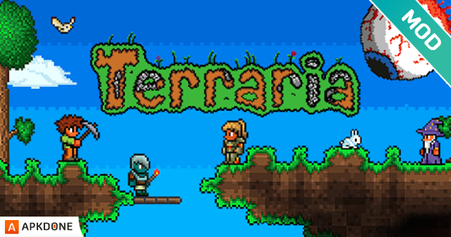 New APK Terraria 1.3.0 (MOD Unlimited Items) Updated
