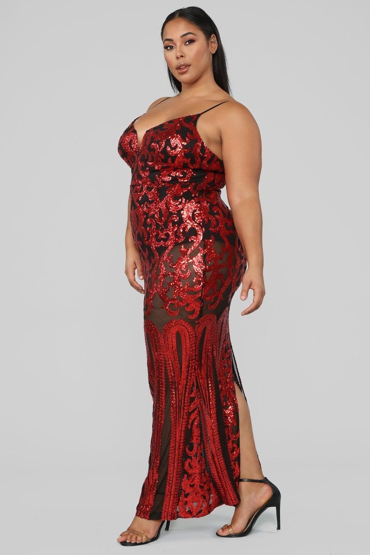 Guest Of Honor Sequin Dress Red in 2020 (With images