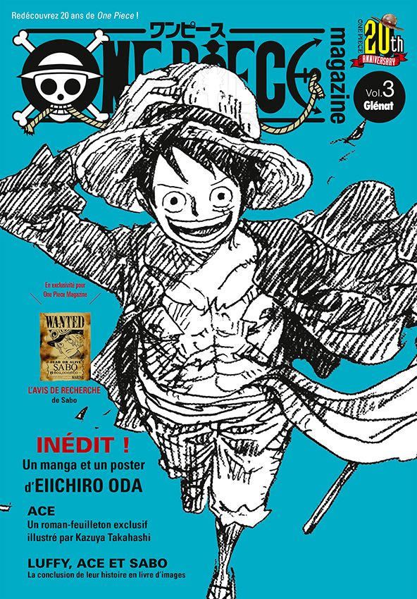 Couvertures manga One Piece Magazine Vol.3