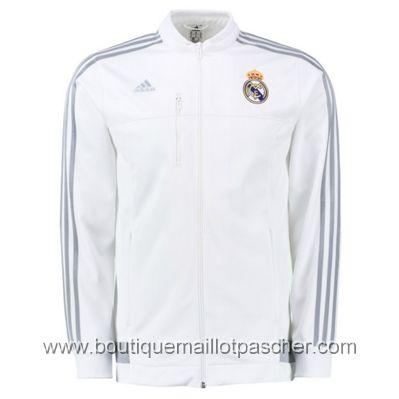 Veste adidas Real Madrid 2016 Blanc | Survetement real