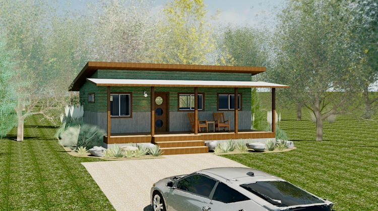 Reclaimedspace Smallhome2 Jpg Cottage Homes Modern Mobile Homes Small House