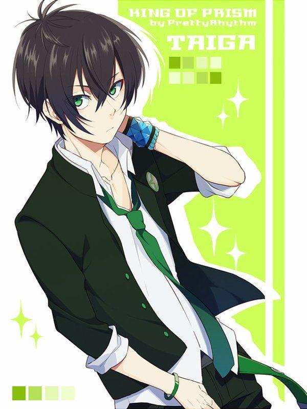 Green Eyes Black Hair Anime Black Hair Anime Guys With Glasses Anime Green Hair