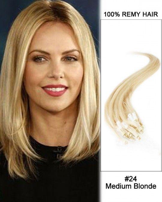 Wholesale 24 Medium Blonde18 24 Straight 100 Remy Hair Human