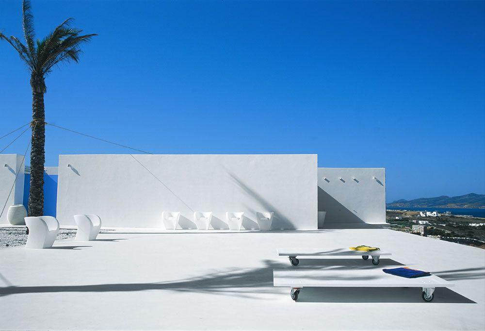 Modern Architecture Greece villa galfetti, paros, greece — the modern house estate agents