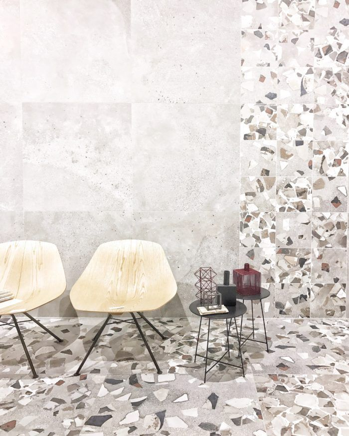 Tile trends 2018 to watch out from the latest cersaie 2017 fair terrazzo tile and terrazzo
