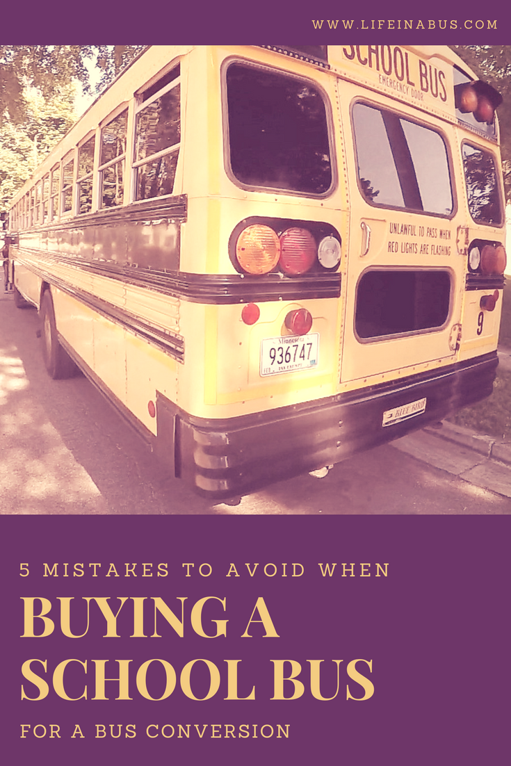 5 Mistakes to Avoid when Buying a School Bus for a Bus
