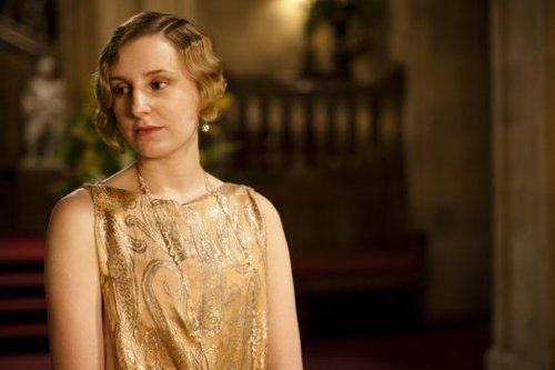 "Laura Carmichael in ""Downton Abbey"""